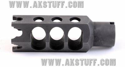 Dtk 2 Dtk2 Muzzle Brake 24x1 5 Right Rh Authentic Zenitco Black Color Dtk 2 Holsters Sporting Goods Holsters Belts Pouches Holsters