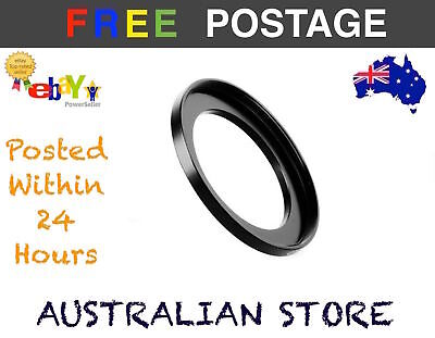 Step Up Ring  52-58mm 52mm-58mm Metal Step Up Lens Filter Ring Adapter DSLR AU