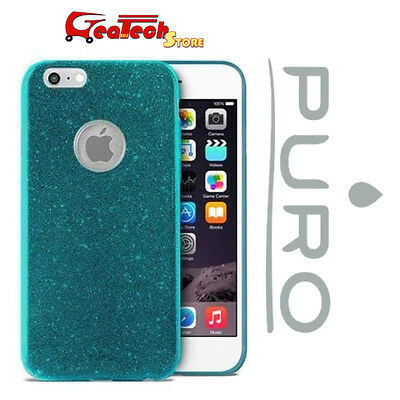 Puro Shine Cover for IPHONE 6 6S Shockproof Shock Proof Hard Slim Case Blue