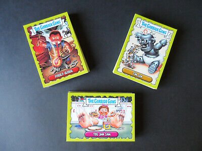 Topps The Garbage Gang/Pail Kids Trading Cards Complete 96 Card Set