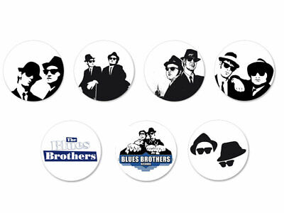 Lot Pack Badge Button Ø25mm The Blues Brothers Blues Rock US