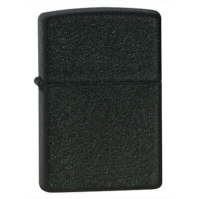 Zippo 236 Lighter Black Crackle