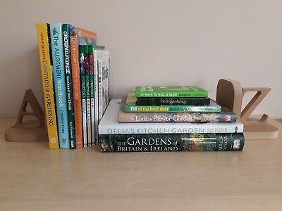 Job Lot Collection of 15 x Gardening Books/Shelf Fillers  EXCELLENT CONDITION