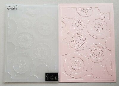 Couture Creations 'DOILIES' Embossing Folder