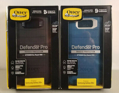 """NEW Rugged Case by Otterbox Defender PRO for 6.2"""" Samsung Galaxy S8+ COLORS"""
