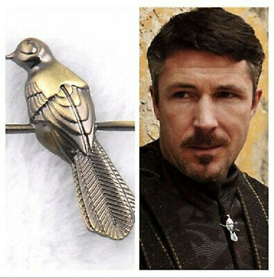 2pcs Vintage Game of Thrones brooch Song of Ice and Fire little finger Berry