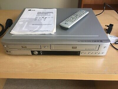 LG RC1000 dvd video combo player