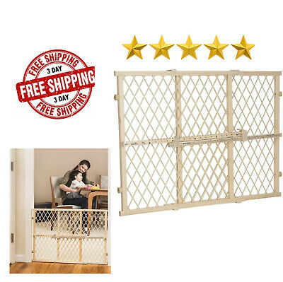 Evenflo Position And Lock Neutral Pressure Mount Wood Gate Pets Child Safety