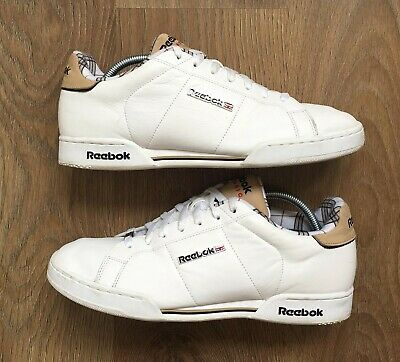 e665712acd71 Reebok Classic Chaussure Npc Neo Leather White Mens Trainers Uk 11 Eu 45.5