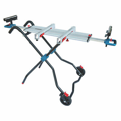 Portable Mitre Saw Stand Universal Heavy Duty Folding Work Table Wheels Workshop