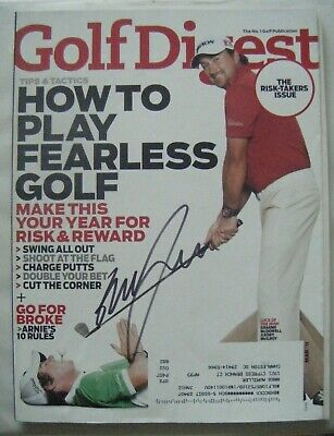 GRAEME McDOWELL signed 2011 GOLF DIGEST magazine AUTO Autographed rory mcilroy