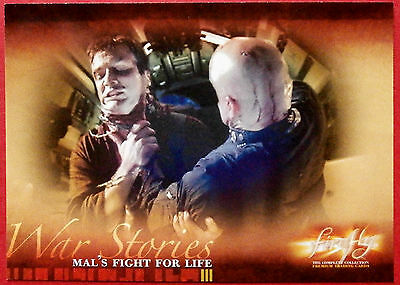 Joss Whedon's FIREFLY - Card #42 - Mal's Fight for Life - Inkworks 2006