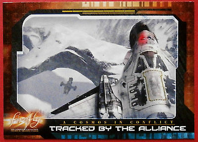 Joss Whedon's FIREFLY - Card #61 - Tracked by the Alliance - Inkworks 2006