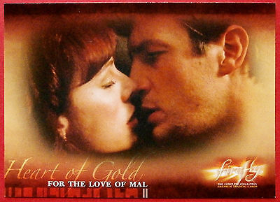 Joss Whedon's FIREFLY - Card #50 - For the Love of Mal - Inkworks 2006