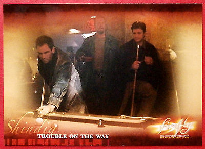 Joss Whedon's FIREFLY - Card #23 - Trouble On The Way - Inkworks 2006