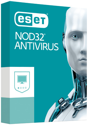 ESET NOD32 ANTIVIRUS Ver.12. -- 1 PC -- MARZO 2020
