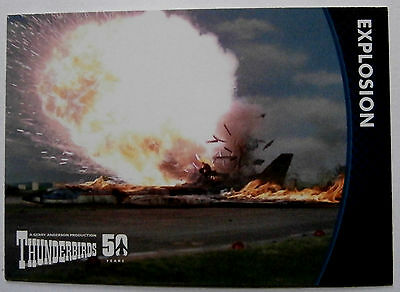 THUNDERBIRDS 50 YEARS - Card #30 - Gerry Anderson - Unstoppable Cards Ltd 2015