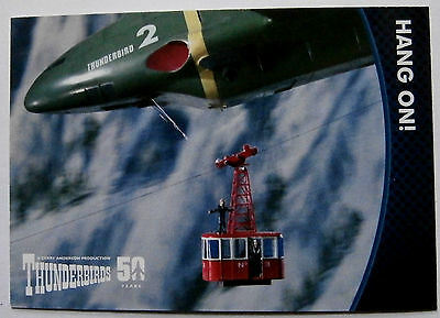 THUNDERBIRDS 50 YEARS - Card #26 - Gerry Anderson - Unstoppable Cards Ltd 2015