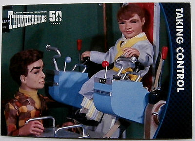 THUNDERBIRDS 50 YEARS - Card #27 - Gerry Anderson - Unstoppable Cards Ltd 2015