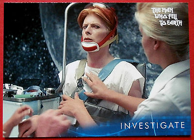 DAVID BOWIE - The Man Who Fell To Earth - Card #40 - Investigate - Unstoppable
