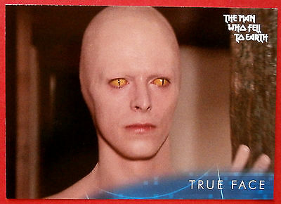 DAVID BOWIE - The Man Who Fell To Earth - Card #34 - True Face - Unstoppable