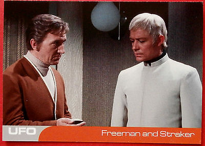 UFO - Card #24 - Freeman and Straker - Unstoppable Cards Ltd 2016