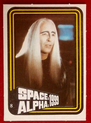 SPACE / ALPHA 1999 - MONTY GUM - Card #8 - Netherlands 1978