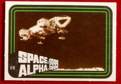 SPACE / ALPHA 1999 - MONTY GUM - Card #18 - Netherlands 1978