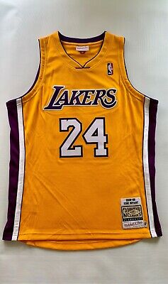 new style 42cca cb479 100% AUTHENTIC MITCHELL and ness Los Angeles Lakers Kobe ...