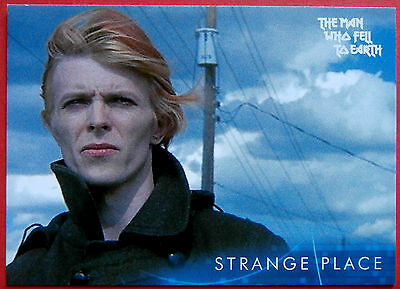 DAVID BOWIE - The Man Who Fell To Earth - Card #3 - Strange Place - Unstoppable
