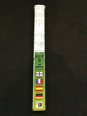 "Vintage Waltons Key ""D"" Irish Tin Whistle Flute Made In Ireland"