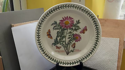PORTMEIRION BOTANIC GARDEN DINNER PLATE FLOWERED CRYSANTHEMUM  FACTORY 2nd