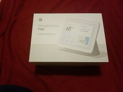 New 💻Google - Home Hub with Google Assistant - Light Grey Fabric