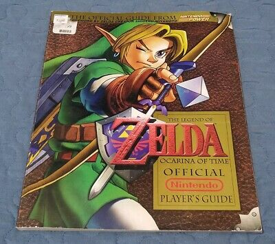 The Legend of Zelda Ocarina of Time Official Nintendo Player's Guide