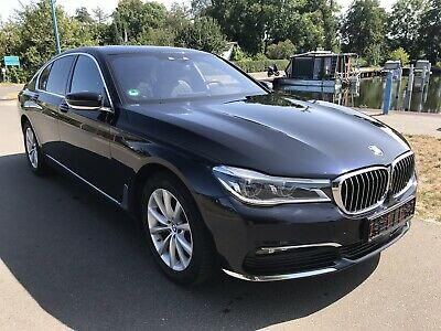 BMW 730d xDrive, Limousine, schwarz metallic, Businesspaket, Vollausstattung !!!