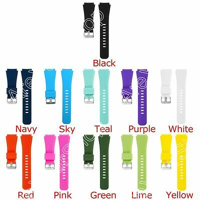 Watch Band Strap For Samsung Gear S3 Classic Frontier Silica Gel Big 11+ Color