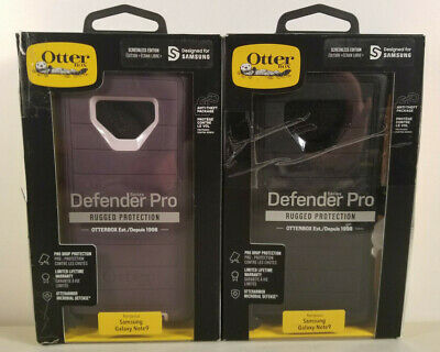 NEW Rugged Case by Otterbox Defender PRO for Samsung Galaxy Note 9 COLORS