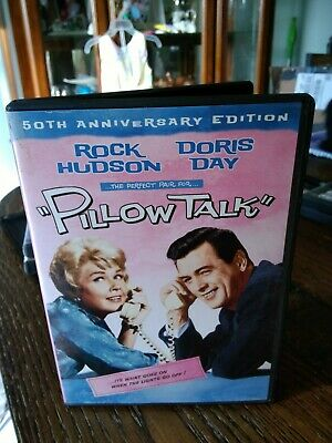 Pillow Talk - 1959 comedy classic - DVD - Doris Day, Rock Hudson, Tony Randall