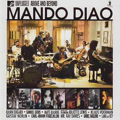 MANDO DIAO MTV Unplugged - Above And Beyond CD Album 2010 NEUWARE Dance With Som
