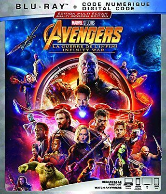 Avengers Infinity War (no digital code)