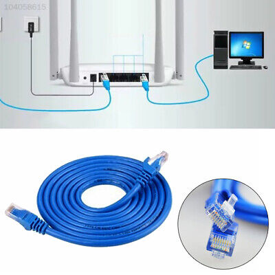 3F6C RJ45 Ethernet Internet Cat5e Network Cables LAN Patch Cat 5e Lead Cord 3/5M