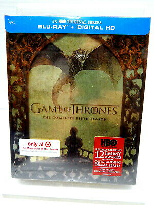 2K BLU-RAY DVD GAME OF THRONES Complete Fifth Season Target Exclusive NEW!