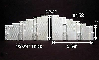 Scale Model Masterpieces~SMM9321~HO~Brick Pillar Footers ~X 3 Packages~ 4Pcs