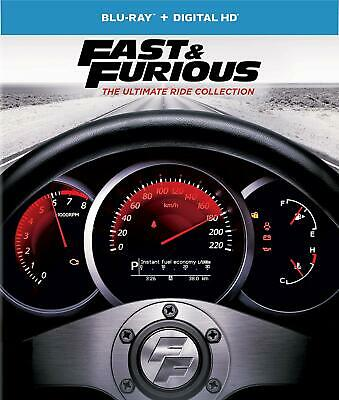 Fast and Furious: The Ultimate Ride Collection (Blu-ray Disc, 2017, 8-Disc Set)