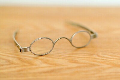 Antique Solid Silver Spectacles Eyeglasses