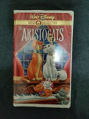 The Aristocats (VHS, 2000, Gold Collection)