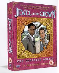 The Jewel In The Crown - The Complete Series (DVD, 2005) 1984 TV series
