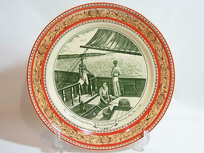 Lieut William Grant Discovering Portland, Plate by Wm Adams & Sons. VGC