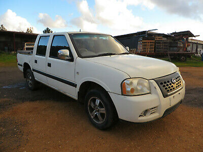 Great Wall DC Ute, 2009 Year, Five Seater, White In Colour