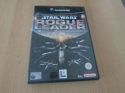 Star Wars Rogue Leader Rogue Squadron II 2 Nintendo Gamecube Game PAL